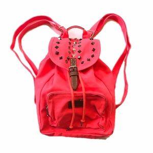 Victoria's Secret PINK Hot Red Mini Backpack